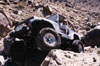Larry with their YJ at Outer Limits Trail in Johnson Valley 1999.